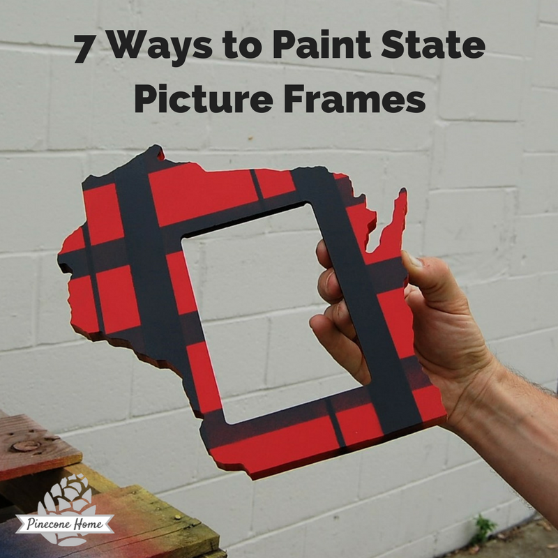 How to Paint a Picture Frame for a Pinterest worthy Present