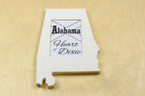 Alabama picture frame 4x6