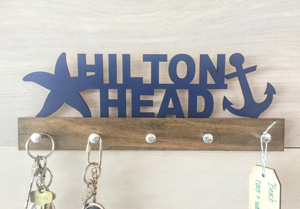 Personalized Beach House Key Holder