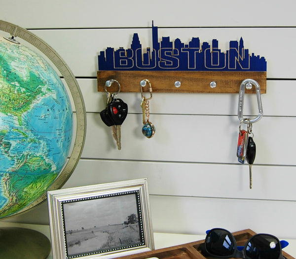 Boston Skyline Key Holder