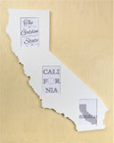 California picture frame 4x6