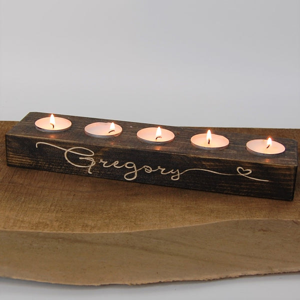 Clearance candle holder