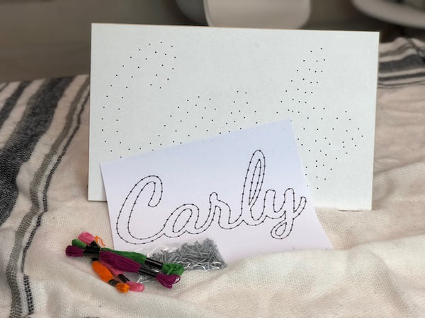 Clearance Personalized String Art Kit
