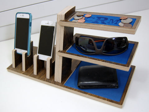 Double Phone Cantilevered Docking Station