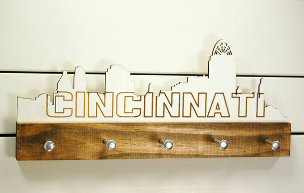 Cincinnati Skyline Key Holder