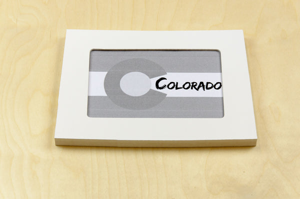 Colorado picture frame 4x6