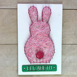 Easter Bunny Personalized String Art Kit