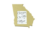 Georgia picture frame 4x6