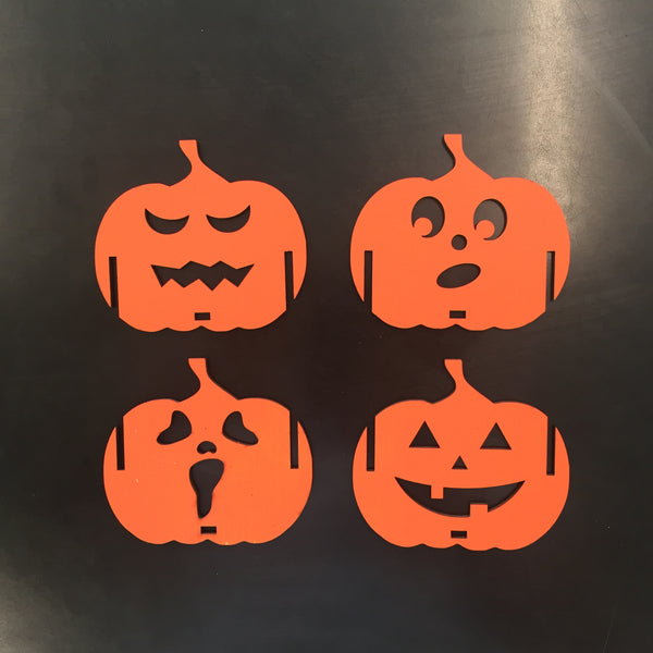 Halloween Candle Holder Set of 3