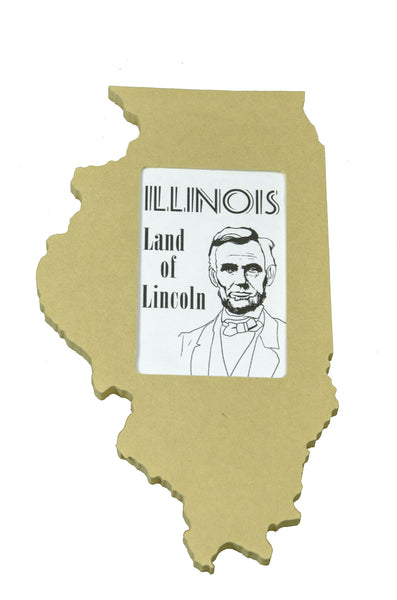 Illinois picture frame 4x6