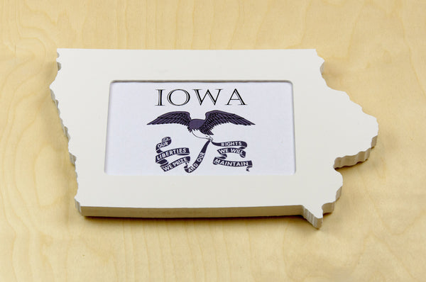 Iowa picture frame 4x6