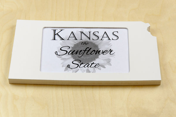 Kansas picture frame 4x6