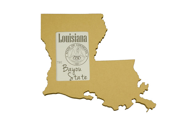 Louisiana picture frame 4x6