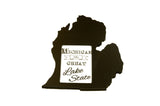 Michigan picture frame 4x6