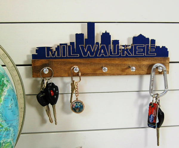 Milwaukee Skyline Key Holder