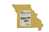 Missouri picture frame 4x6
