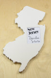 New Jersey picture frame 4x6