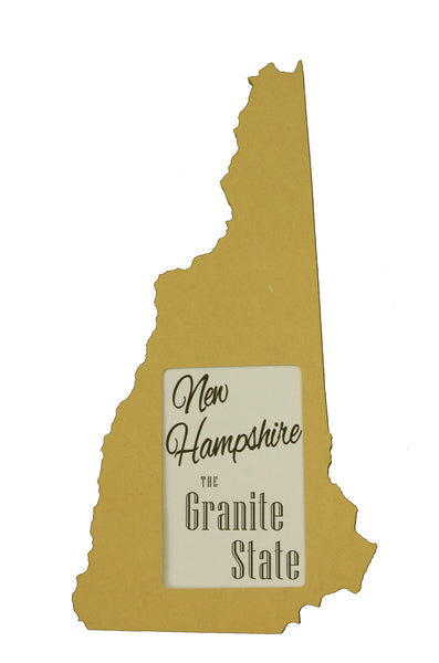 New Hampshire picture frame 4x6