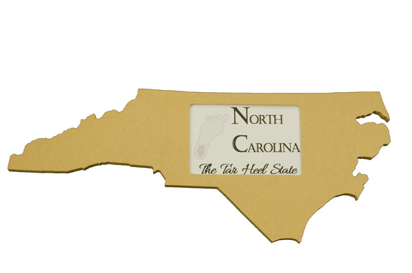 North Carolina picture frame 4x6