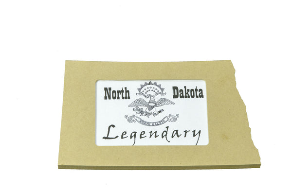 North Dakota picture frame 4x6