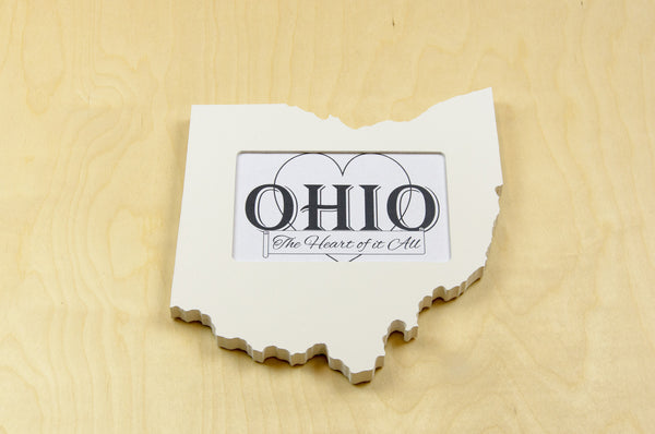 Ohio picture frame 4x6