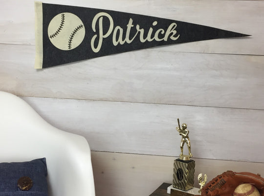 Personalized Felt Sports Pennant