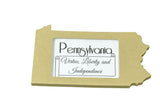 Pennsylvania picture frame 4x6
