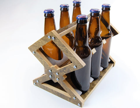 Beer Bottle Six Pack Carrier