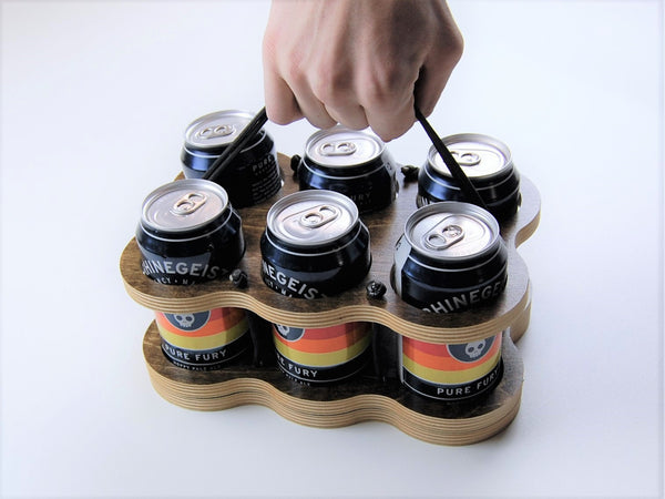 Collapsible Six Pack Can Caddy