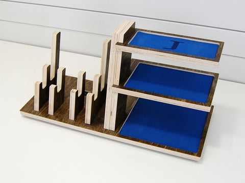 products/Pinecone_Home_Charging_Station_Double_Phone_Tablet_Shelves_angled_blue_empty.JPG