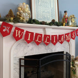 Personalized Holiday Felt Garland