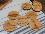 Cincinnati Coasters Set of 5