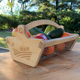 Personalized Harvest Basket