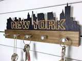 New York Skyline Key Holder