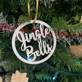 Circle Christmas Ornaments