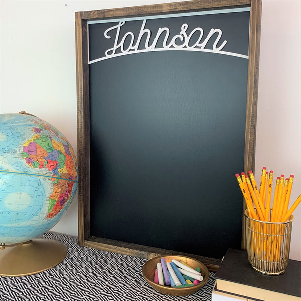 Personalized Large Chalkboard