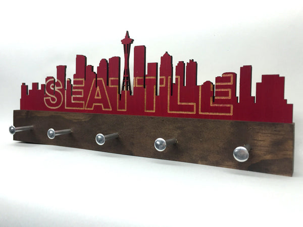 Seattle Skyline Key Holder