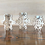 Snowflake Candle Set