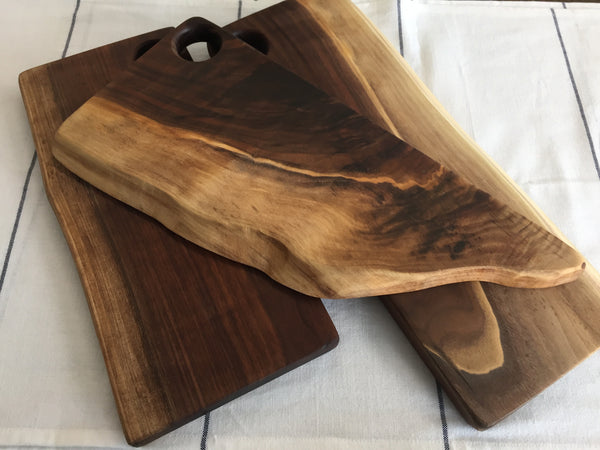 Live Edge Cutting Board/Serving Tray - Client Gift