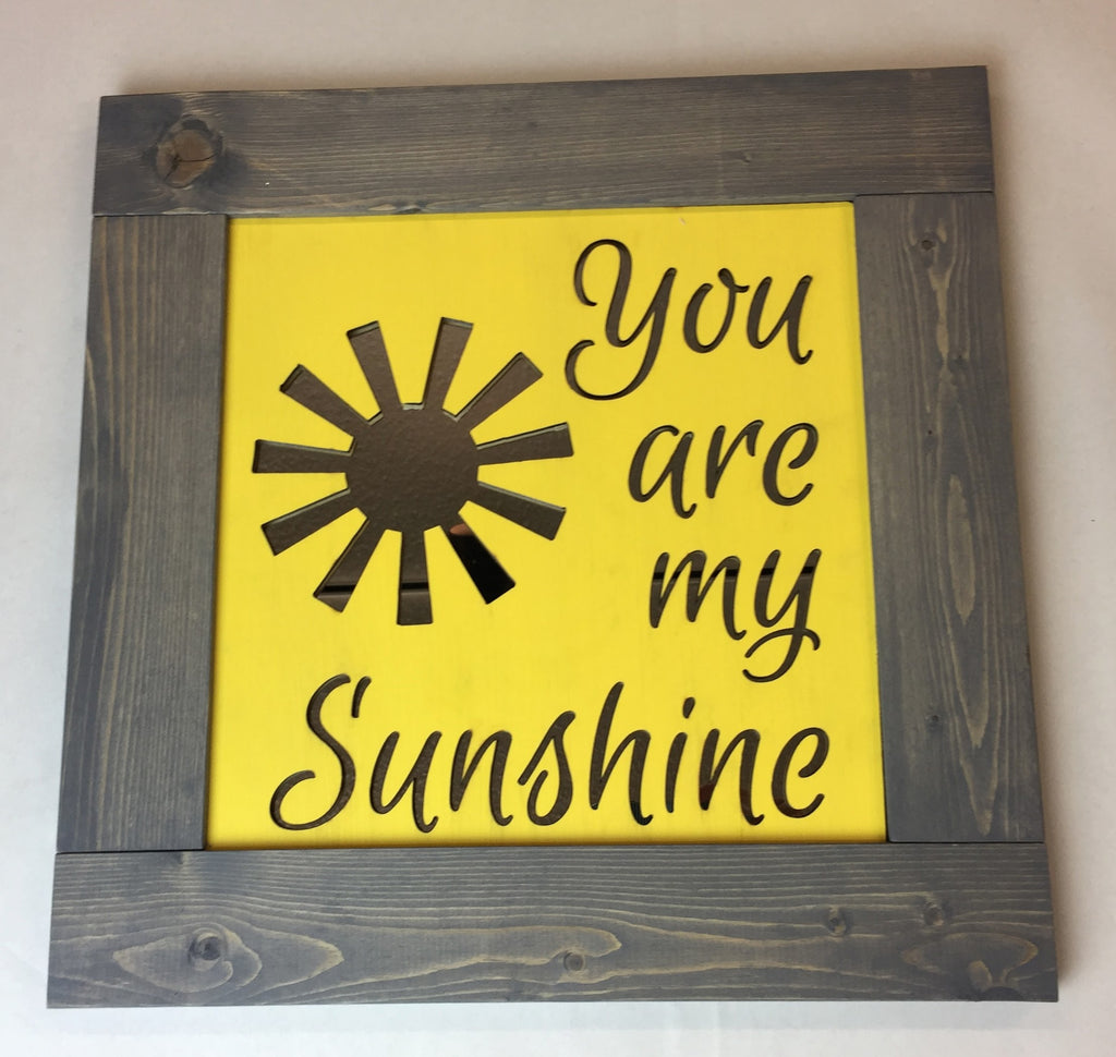 Colorful You Are My Sunshine Wall Decor Pattern - The Wall Art ...