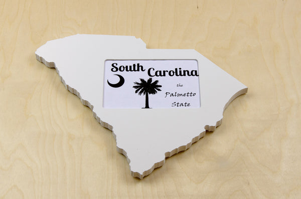 South Carolina picture frame 4x6