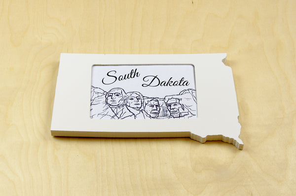 South Dakota picture frame 4x6