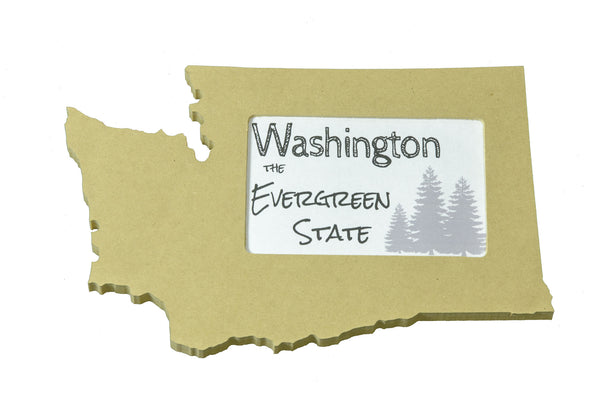 Washington picture frame 4x6