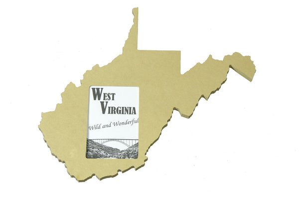 West Virginia picture frame 4x6