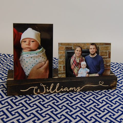 Personalized Engraved Picture Holder