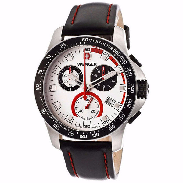 WENGER Wenger Men's Swiss Made Battalion Field Chronograph Watch 70791
