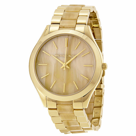 MICHAEL KORS SLIM RUNWAY STAINLESS STEEL WOMEN'S WATCH MK4285
