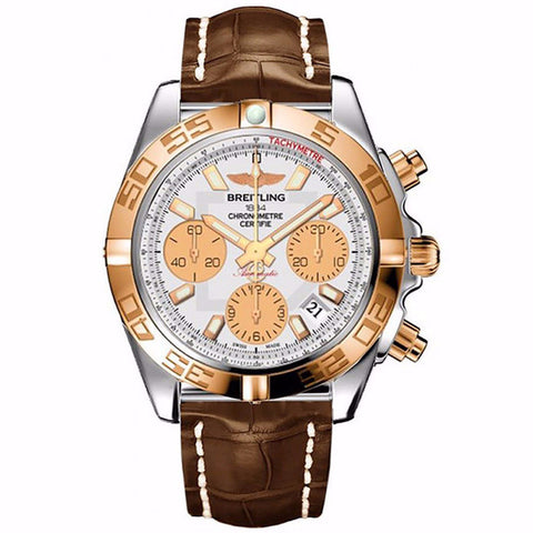 MEN'S BREITLING STAINLESS STEEL WATCH CB014012-G713-725P