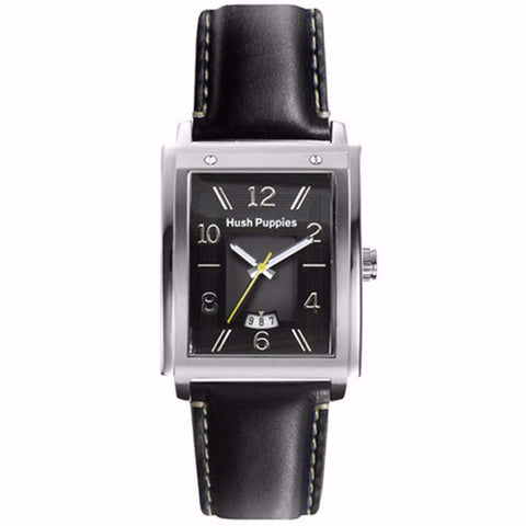 HUSH PUPPIES MEN'S LEATHER STRAP WATCH HP.3600M.2522