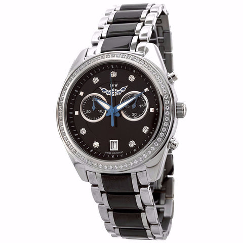 ISW WOMEN'S CHRONOGRAPH STAINLESS STEEL WATCH ISW-1007-04